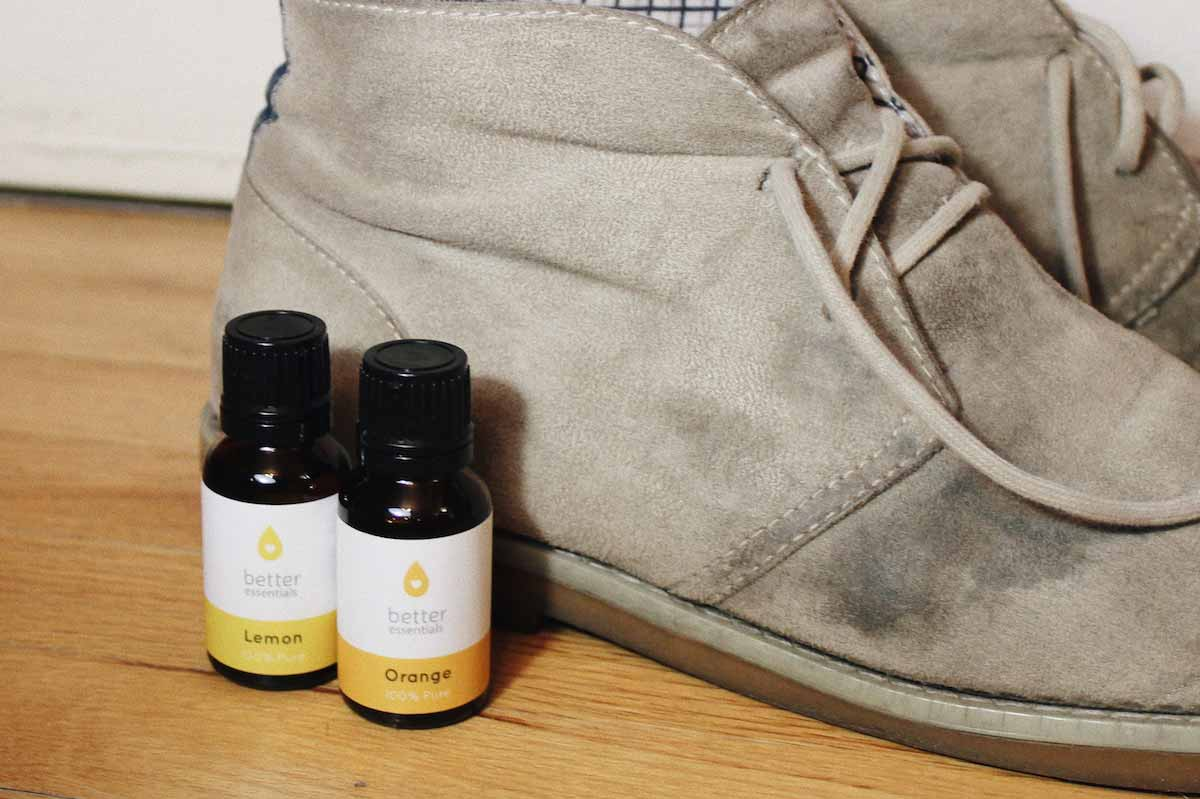 Esesntial oils for stinky boots & shoes - Better Essentials