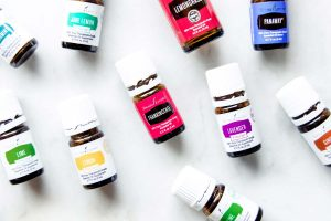 Best essential oil brands - Young Living essential oil bottles